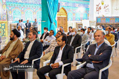 تصاویر آئین گرامیداشت هفته قوه قضائیه و شهدای ۷ تیر در امامزاده نرمی (6)