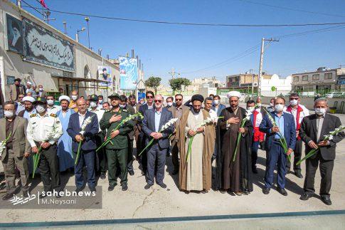 تصاویر آئین گرامیداشت هفته قوه قضائیه و شهدای ۷ تیر در امامزاده نرمی (8)