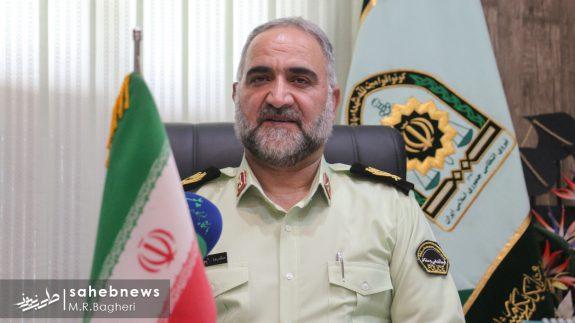 سردار میرحیدری فرمانده ناجا اصفهان