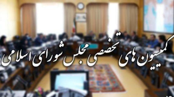کمیسیون های مجلس