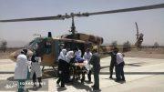اورژانس هوایی اصفهان مادر چهارقلو (4)