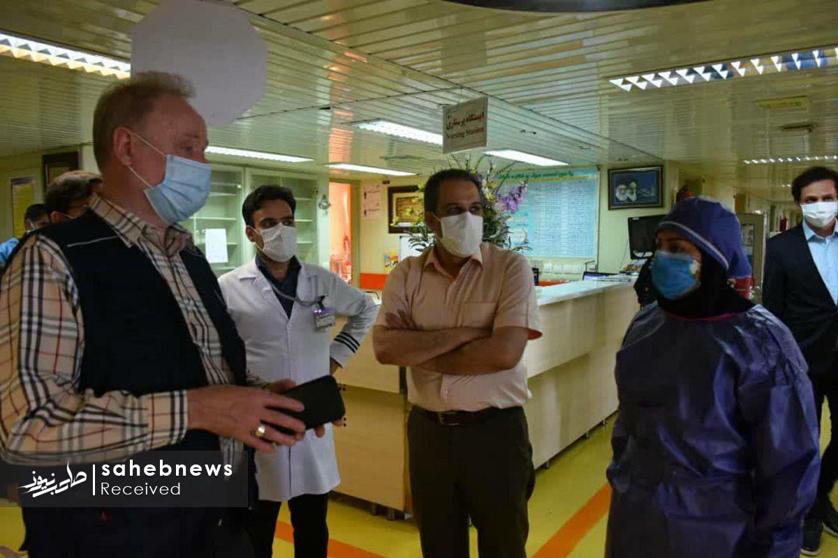 بازدید نماینده سازمان بهداشت جهانی دانشگاه علوم پزشکی اصفهان (10)