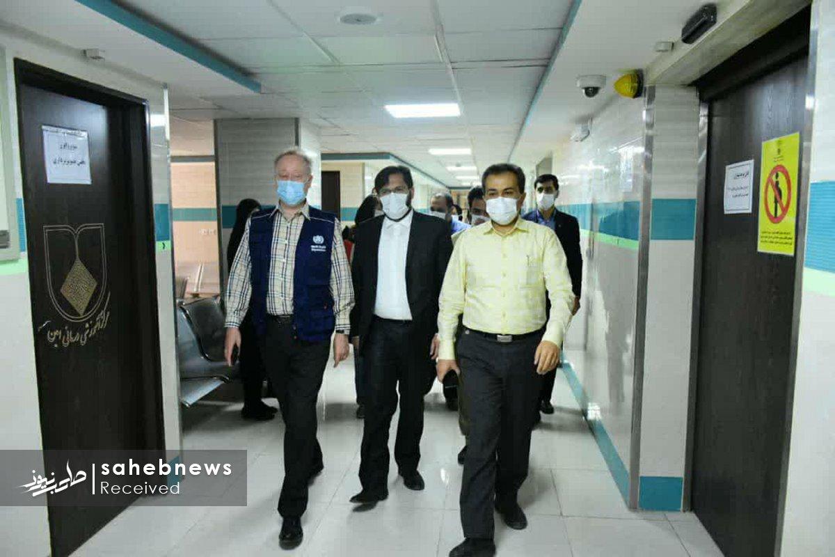 بازدید نماینده سازمان بهداشت جهانی دانشگاه علوم پزشکی اصفهان (12)