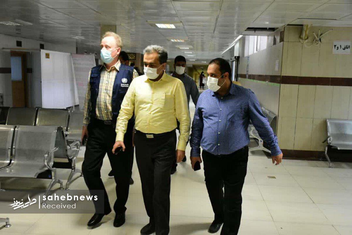 بازدید نماینده سازمان بهداشت جهانی دانشگاه علوم پزشکی اصفهان (13)