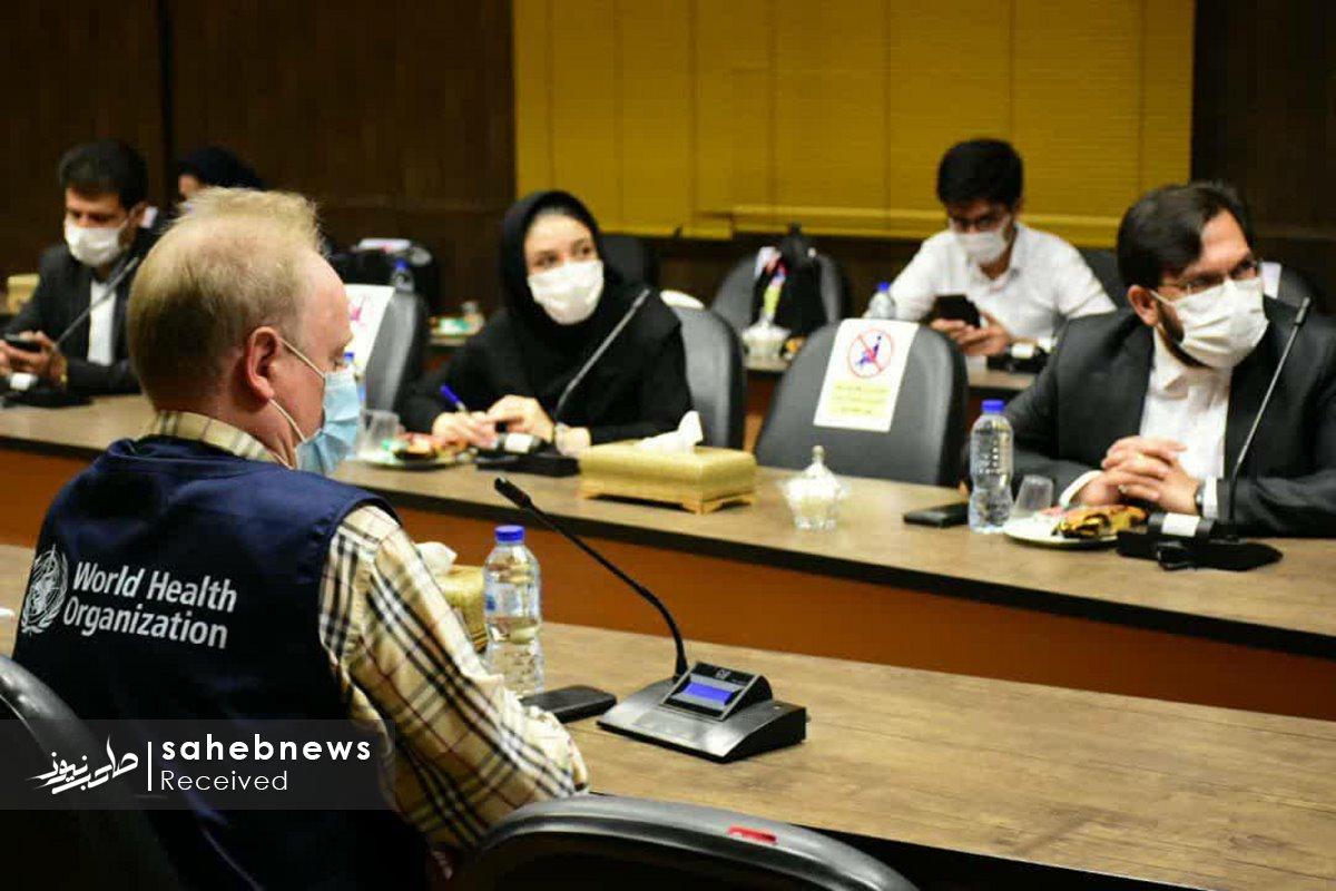 بازدید نماینده سازمان بهداشت جهانی دانشگاه علوم پزشکی اصفهان (14)