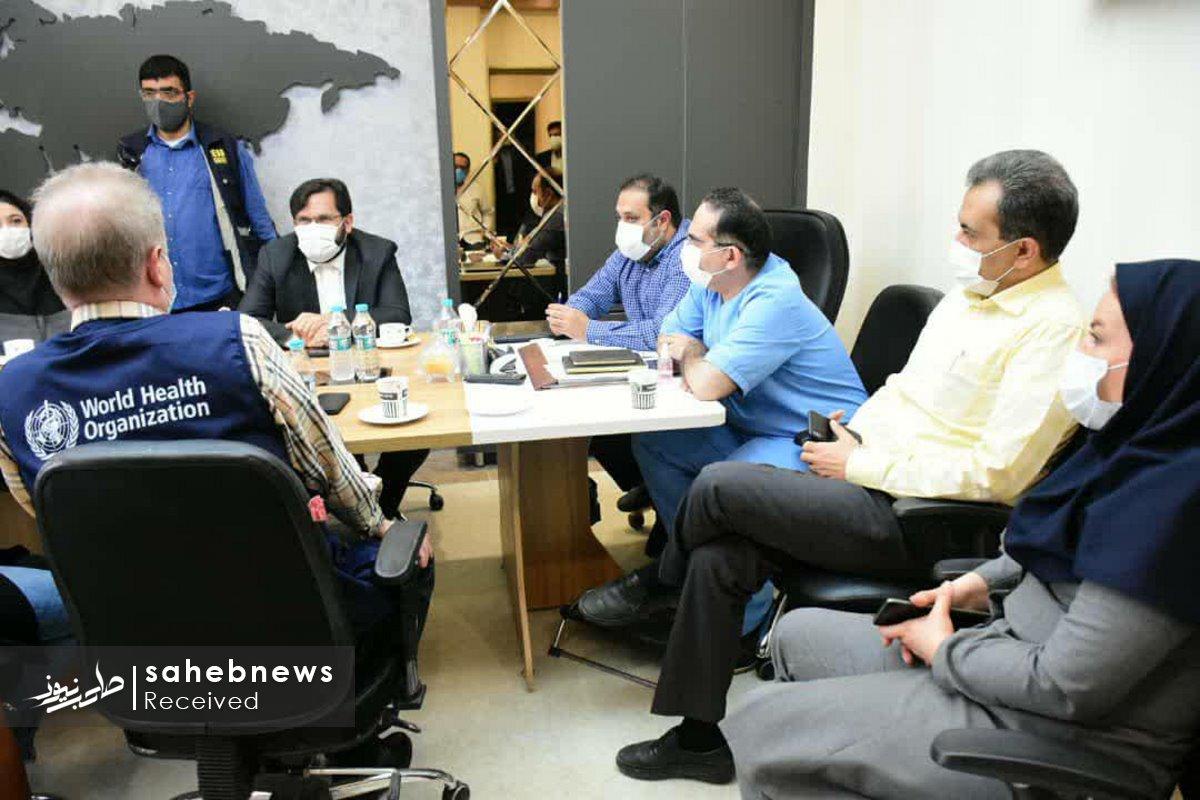 بازدید نماینده سازمان بهداشت جهانی دانشگاه علوم پزشکی اصفهان (15)