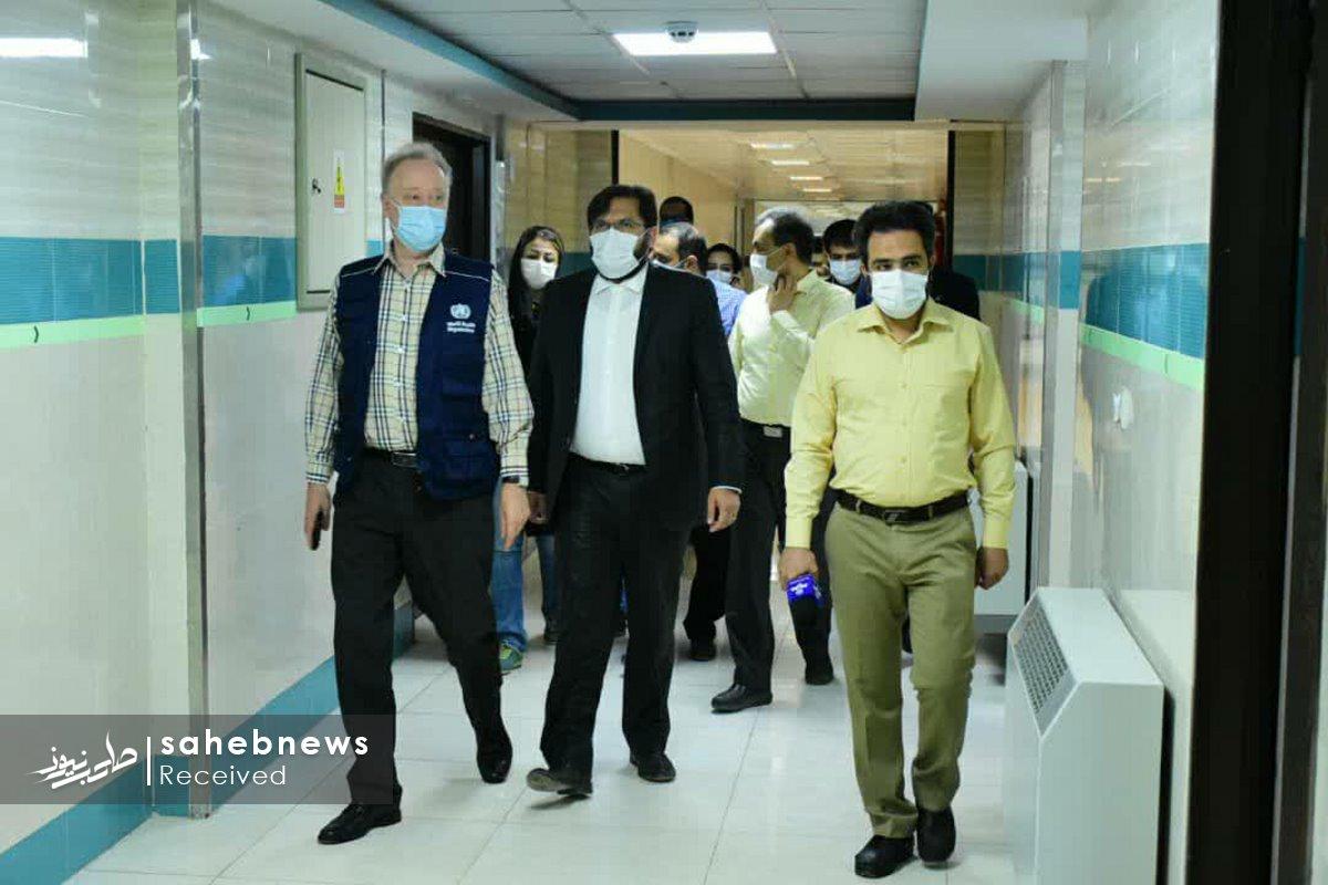 بازدید نماینده سازمان بهداشت جهانی دانشگاه علوم پزشکی اصفهان (16)