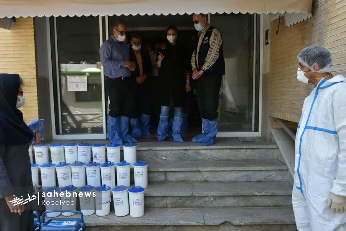 بازدید نماینده سازمان بهداشت جهانی دانشگاه علوم پزشکی اصفهان (2)
