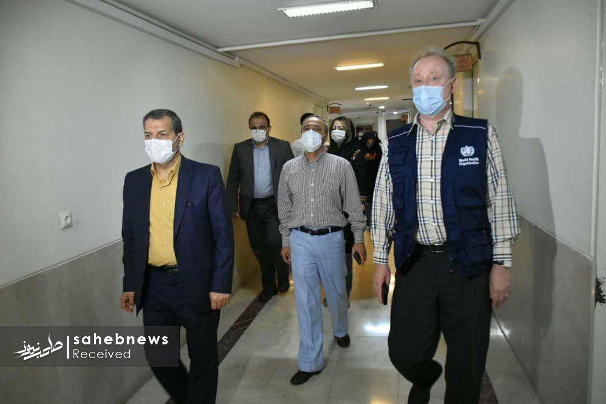 بازدید نماینده سازمان بهداشت جهانی دانشگاه علوم پزشکی اصفهان (21)