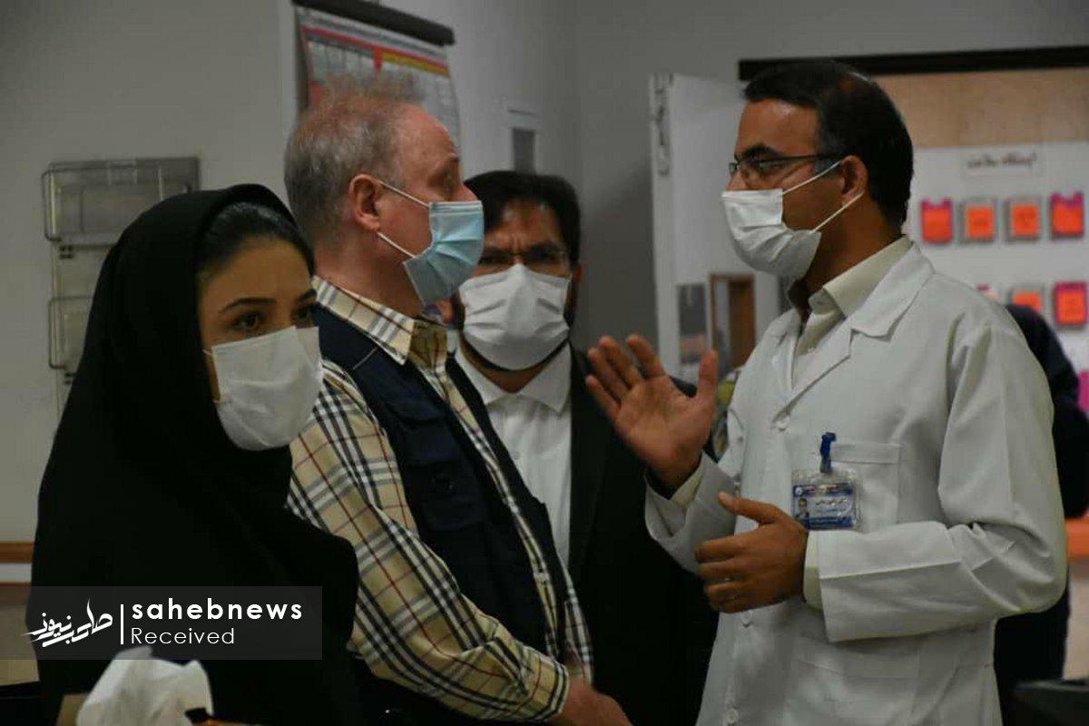 بازدید نماینده سازمان بهداشت جهانی دانشگاه علوم پزشکی اصفهان (3)