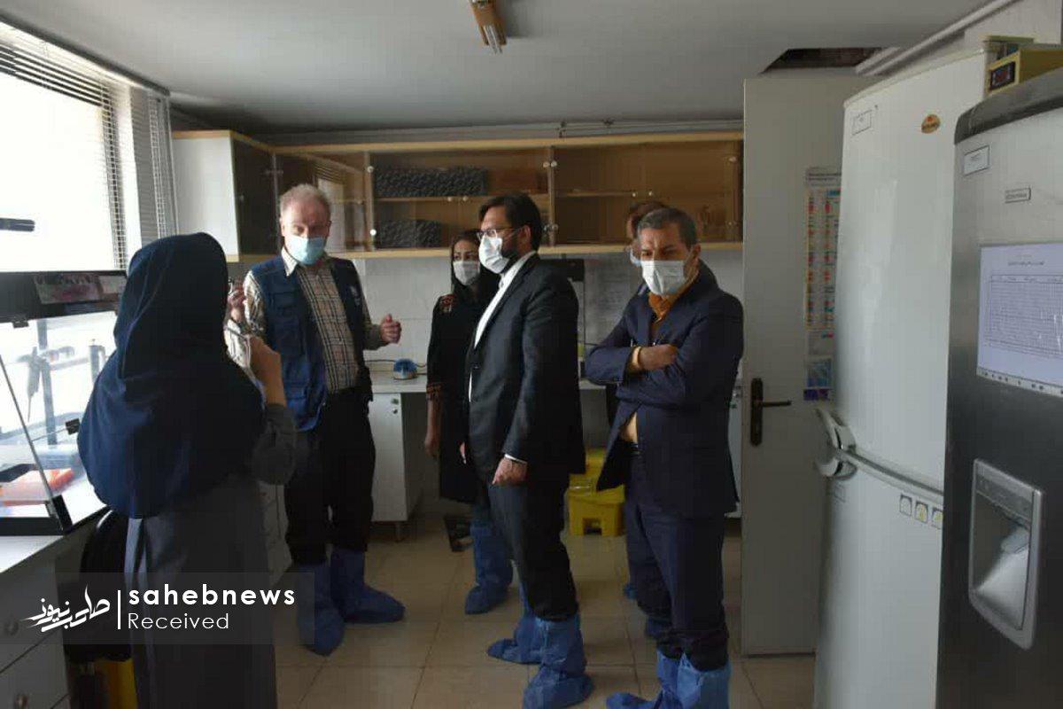 بازدید نماینده سازمان بهداشت جهانی دانشگاه علوم پزشکی اصفهان (4)