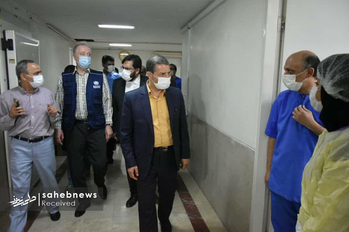 بازدید نماینده سازمان بهداشت جهانی دانشگاه علوم پزشکی اصفهان (5)