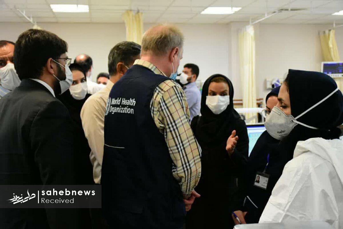 بازدید نماینده سازمان بهداشت جهانی دانشگاه علوم پزشکی اصفهان (6)