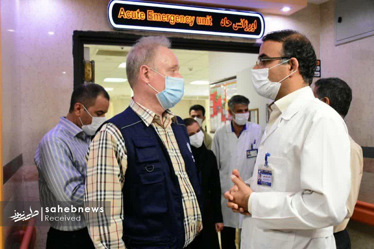 بازدید نماینده سازمان بهداشت جهانی دانشگاه علوم پزشکی اصفهان (7)