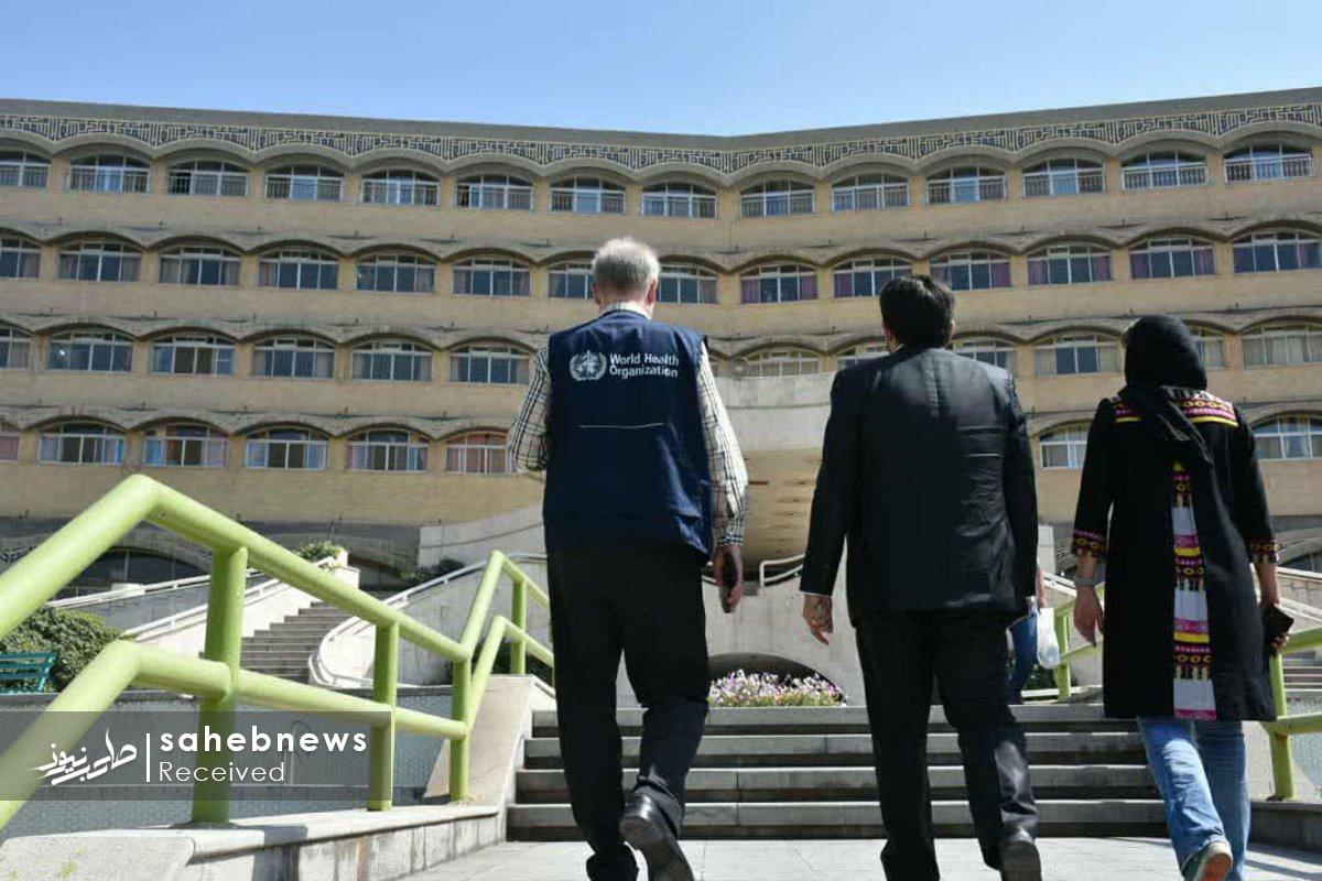 بازدید نماینده سازمان بهداشت جهانی دانشگاه علوم پزشکی اصفهان (9)
