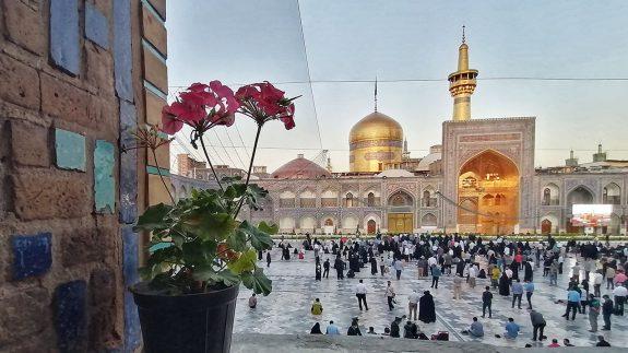 حال+و+هوای+حرم+امام+رضا(ع)+بعد+از+24+ساعته+شدن