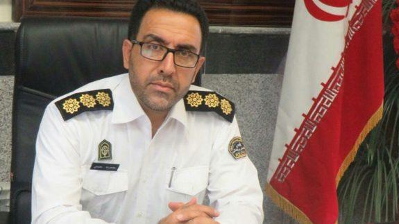 سرهنگ محمدی پلیس راهور اصفهان