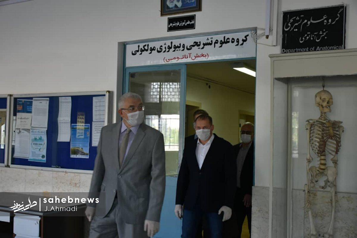سفر سرکنسولگر روسیه به دانشگاه علوم پزشکی اصفهان (1)