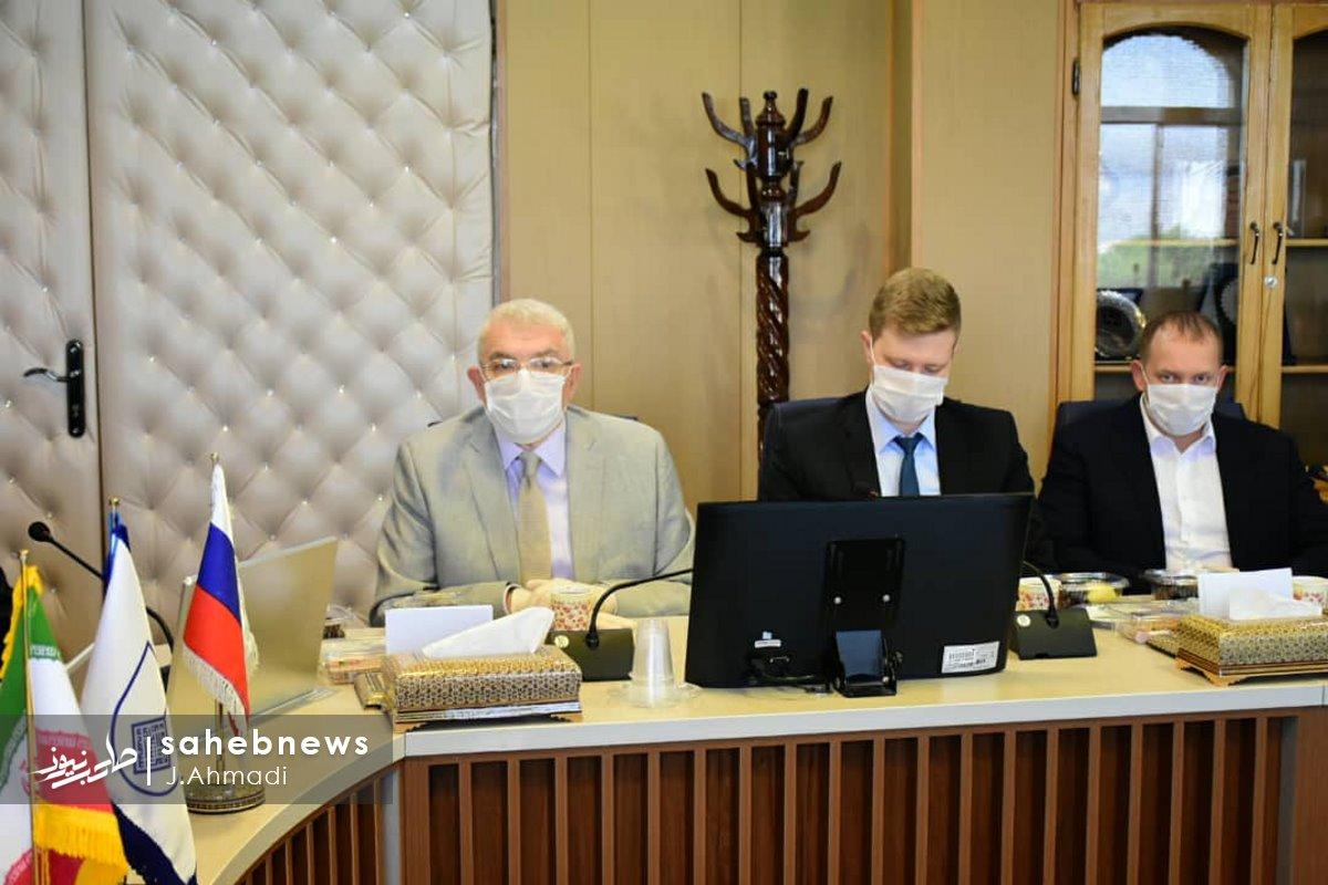سفر سرکنسولگر روسیه به دانشگاه علوم پزشکی اصفهان (12)