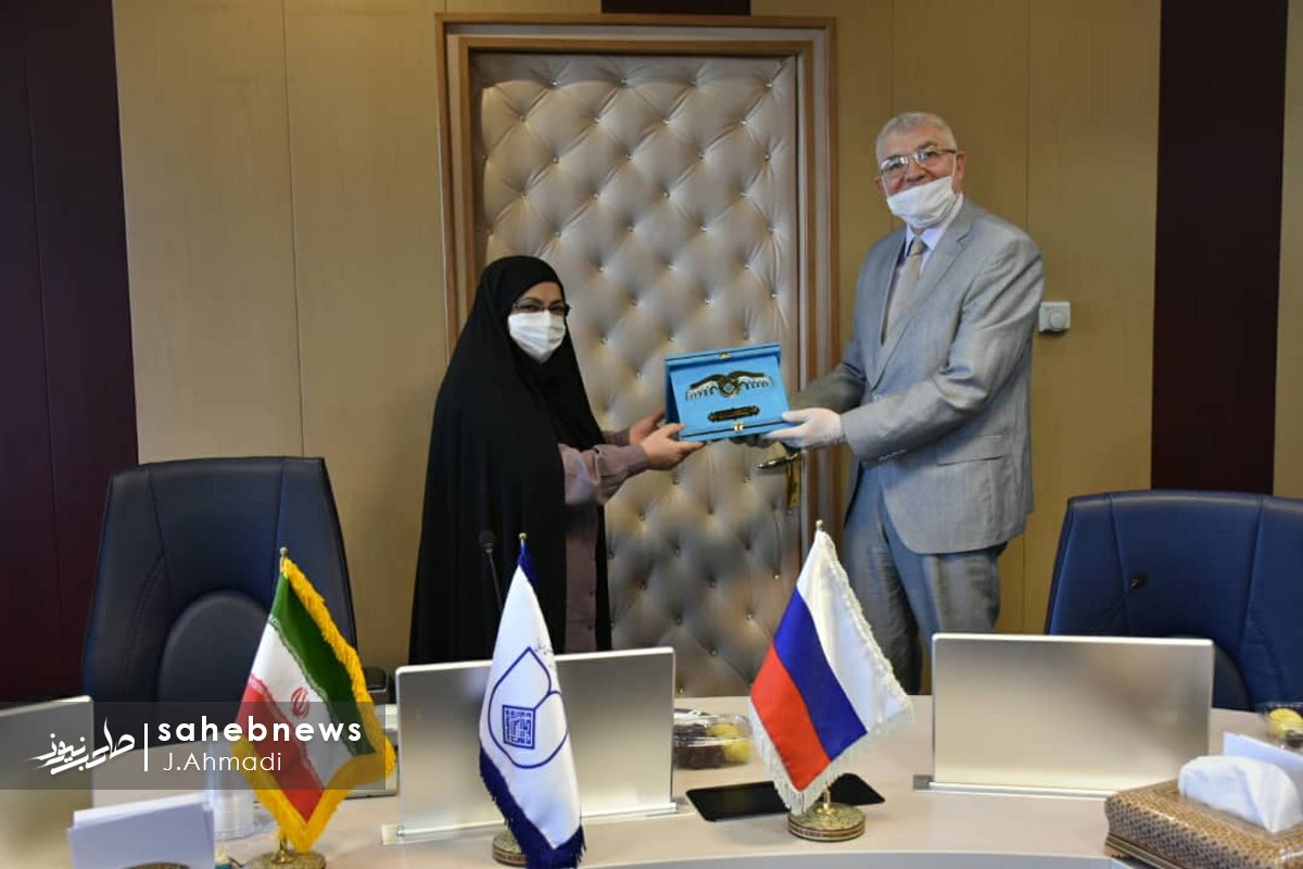 سفر سرکنسولگر روسیه به دانشگاه علوم پزشکی اصفهان (13)