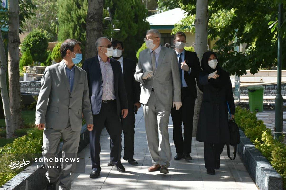 سفر سرکنسولگر روسیه به دانشگاه علوم پزشکی اصفهان (14)