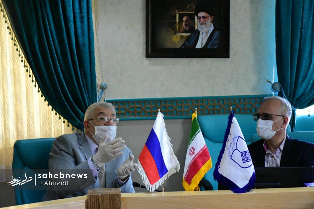 سفر سرکنسولگر روسیه به دانشگاه علوم پزشکی اصفهان (15)
