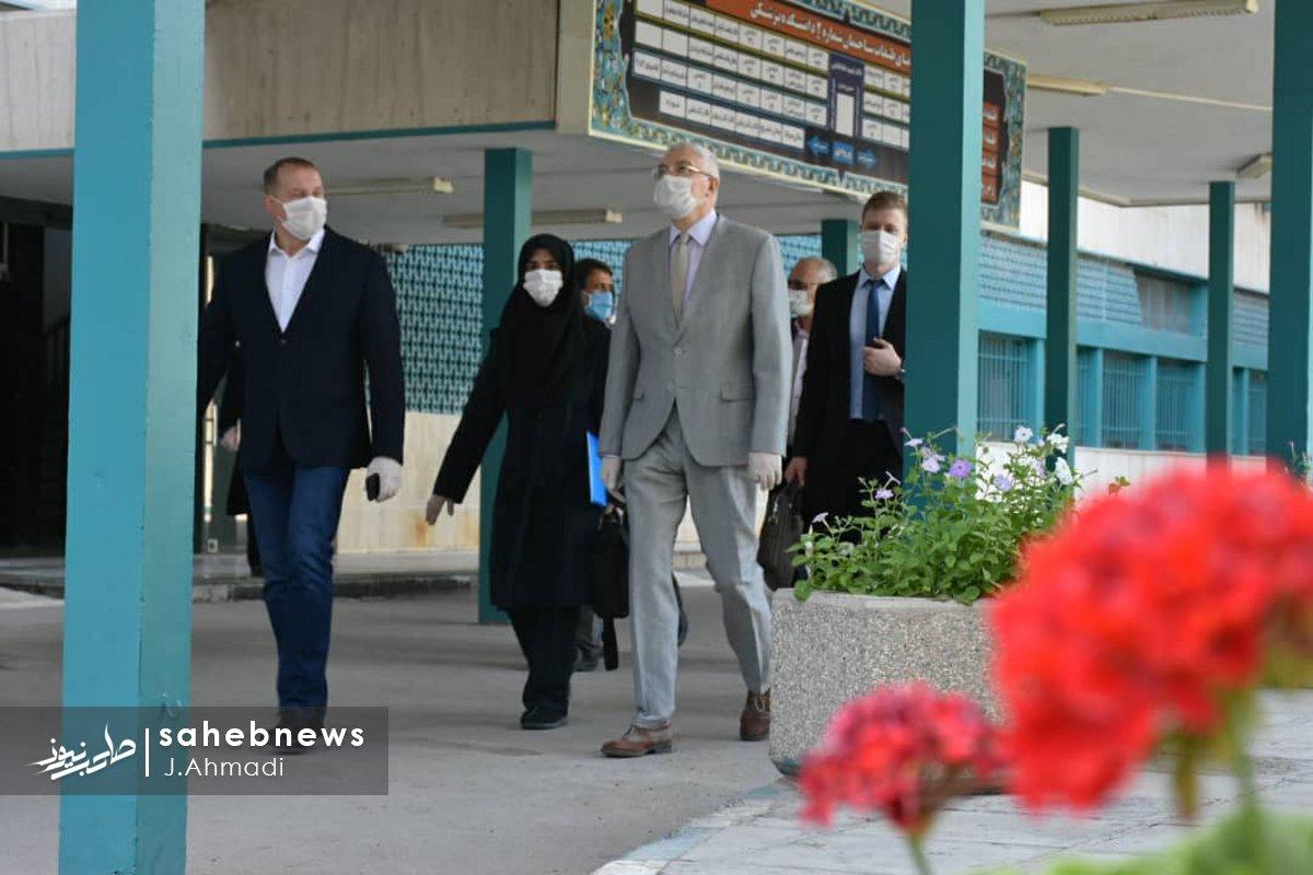 سفر سرکنسولگر روسیه به دانشگاه علوم پزشکی اصفهان (16)