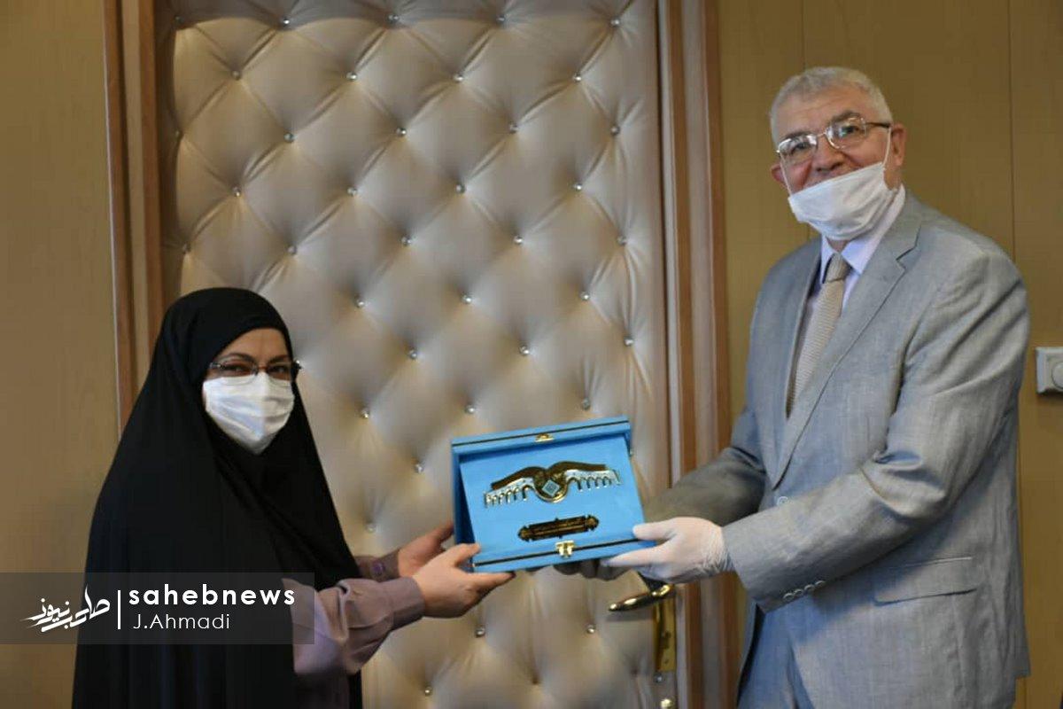 سفر سرکنسولگر روسیه به دانشگاه علوم پزشکی اصفهان (2)