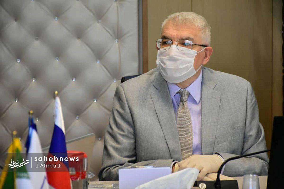 سفر سرکنسولگر روسیه به دانشگاه علوم پزشکی اصفهان (3)
