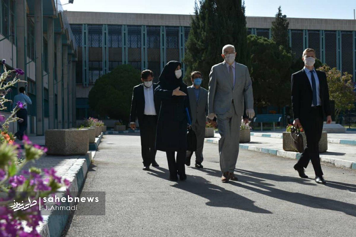 سفر سرکنسولگر روسیه به دانشگاه علوم پزشکی اصفهان (4)