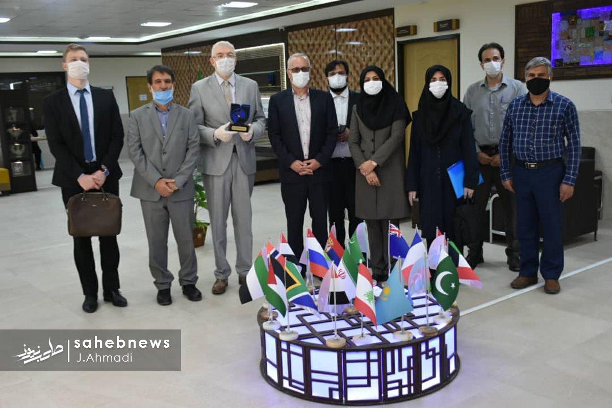 سفر سرکنسولگر روسیه به دانشگاه علوم پزشکی اصفهان (5)