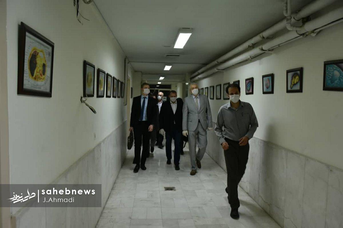سفر سرکنسولگر روسیه به دانشگاه علوم پزشکی اصفهان (6)