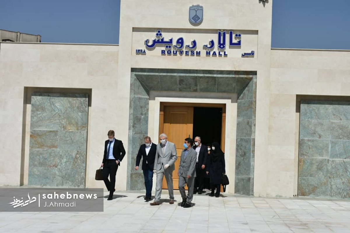 سفر سرکنسولگر روسیه به دانشگاه علوم پزشکی اصفهان (7)