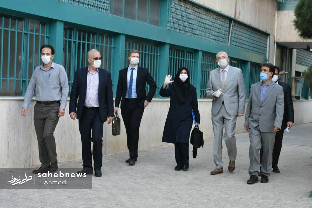 سفر سرکنسولگر روسیه به دانشگاه علوم پزشکی اصفهان (8)