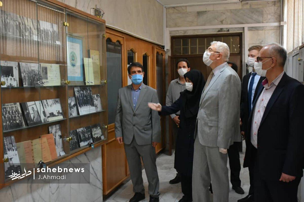 سفر سرکنسولگر روسیه به دانشگاه علوم پزشکی اصفهان (9)