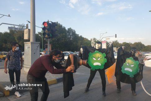 نمایش خیابانی کرونا (11)