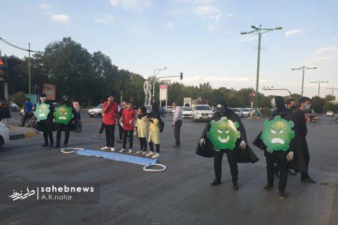 نمایش خیابانی کرونا (6)