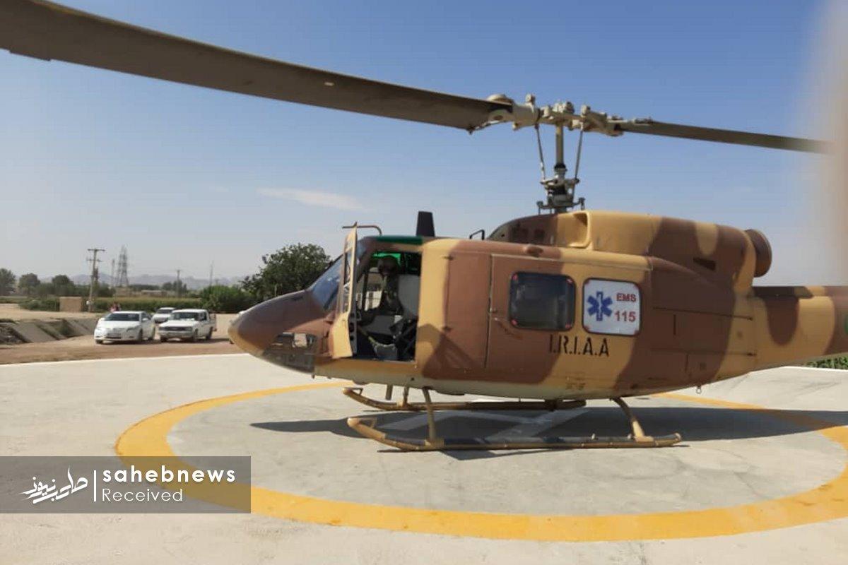 پد بالگرد اورژانس اصفهان (2)