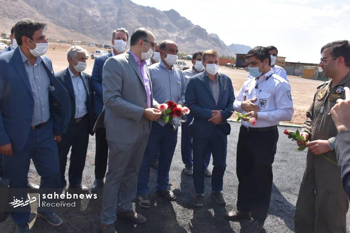 پد بالگرد اورژانس اصفهان (4)