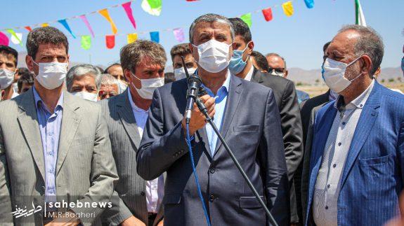 وزیر راه در اصفهان