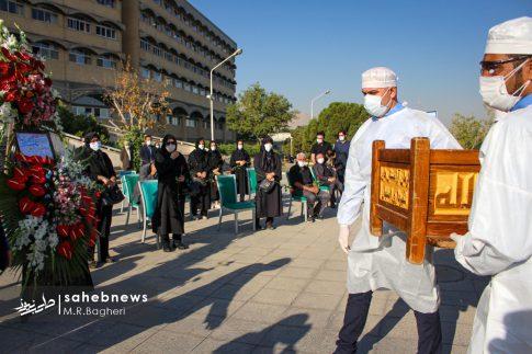 تشییع مدافع سلامت اصفهان (11)