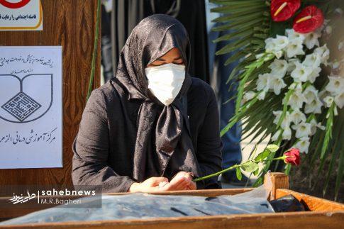 تشییع مدافع سلامت اصفهان (14)