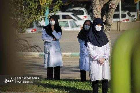 تشییع مدافع سلامت اصفهان (21)