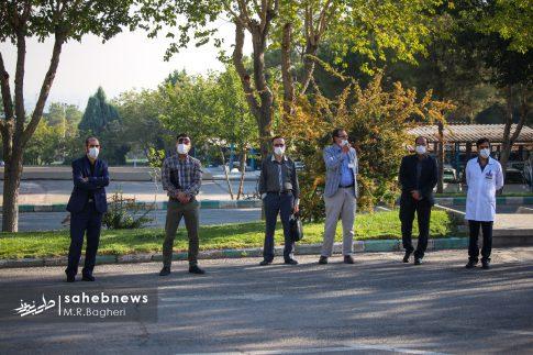 تشییع مدافع سلامت اصفهان (4)