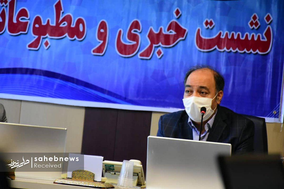 نشست خبری کرونا دانشگاه علوم پزشکی اصفهان (1)