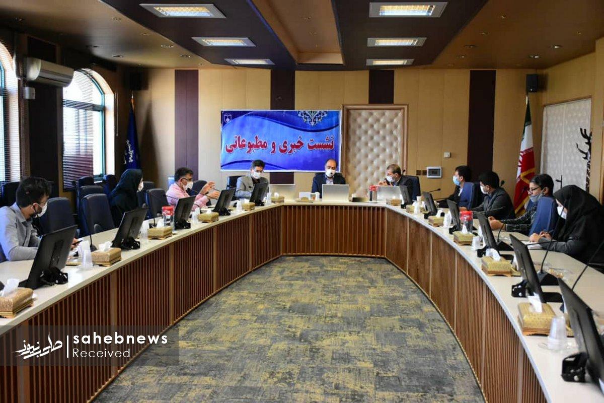 نشست خبری کرونا دانشگاه علوم پزشکی اصفهان (3)