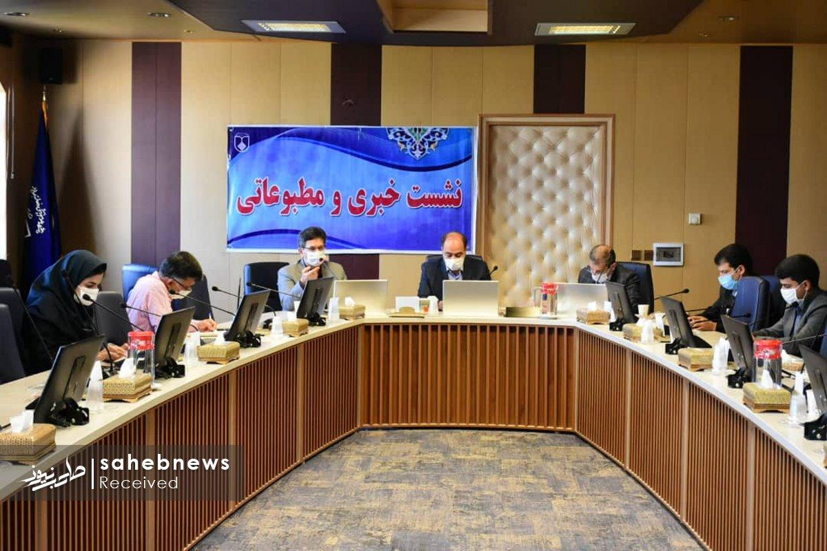 نشست خبری کرونا دانشگاه علوم پزشکی اصفهان (5)