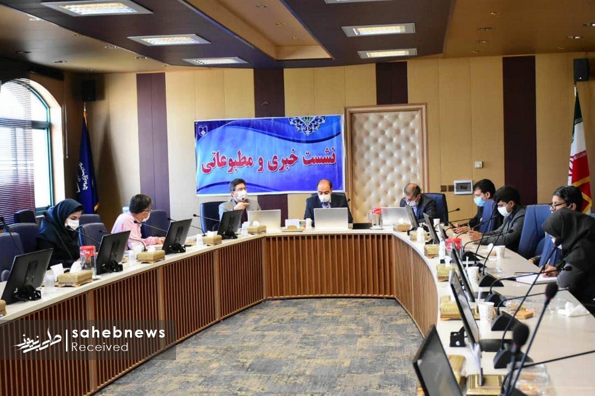 نشست خبری کرونا دانشگاه علوم پزشکی اصفهان (6)