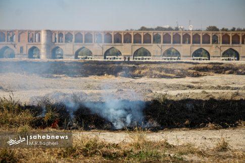 آتش در زاینده رود (2)