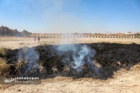 آتش در زاینده رود (4)